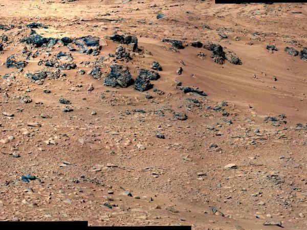 Curiosity: 'Rocknest' From Sol 52 Location