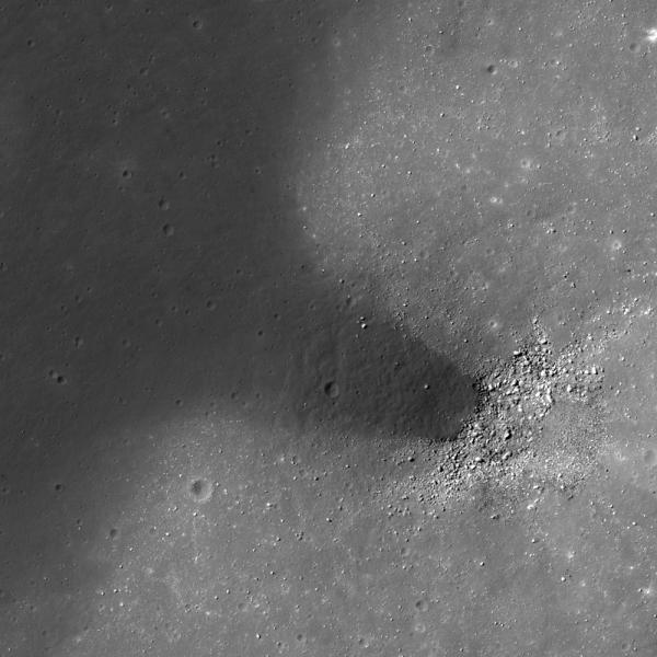 Lunar Reconnaissance Orbiter - Dark Material Flows