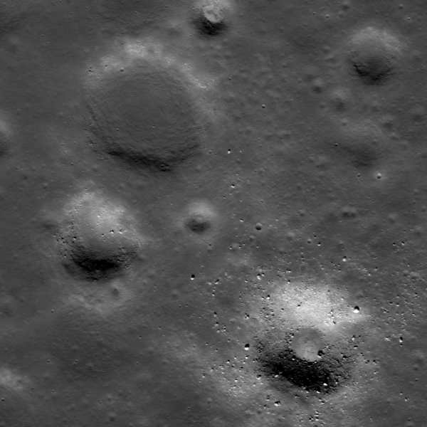 Lunar Reconnaissance Orbiter - Young and Old