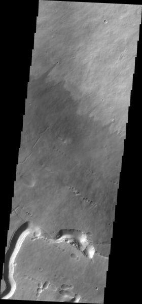 Mars Odyssey - Pavonis Mons