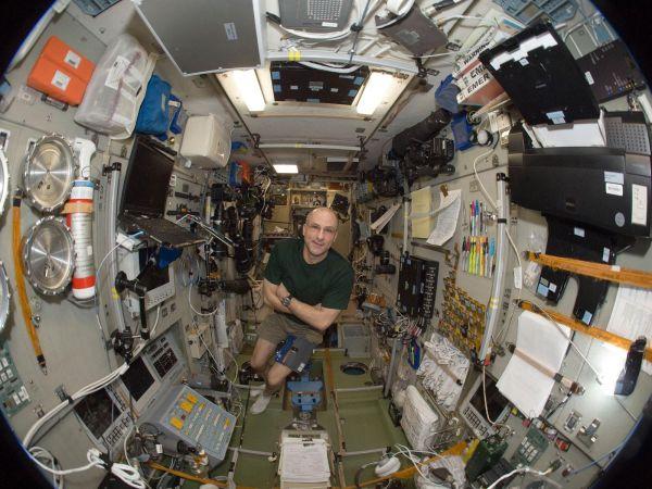 International Space Station - Astronaut Don Petitt