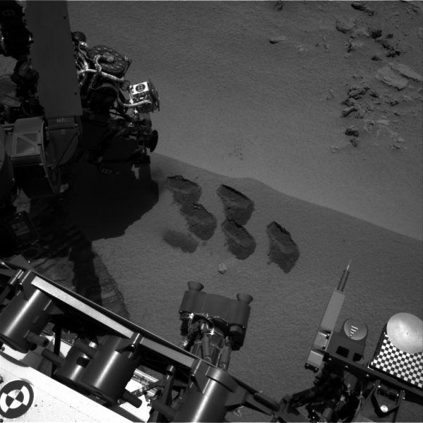 Five Bites Into Mars