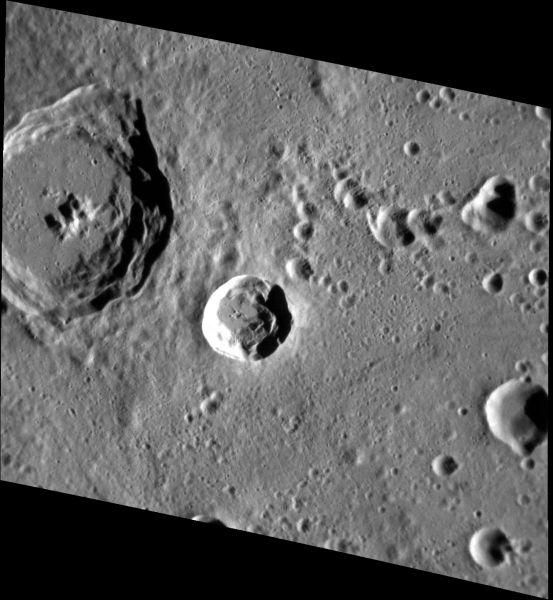 Mercury - Nureyev Crater