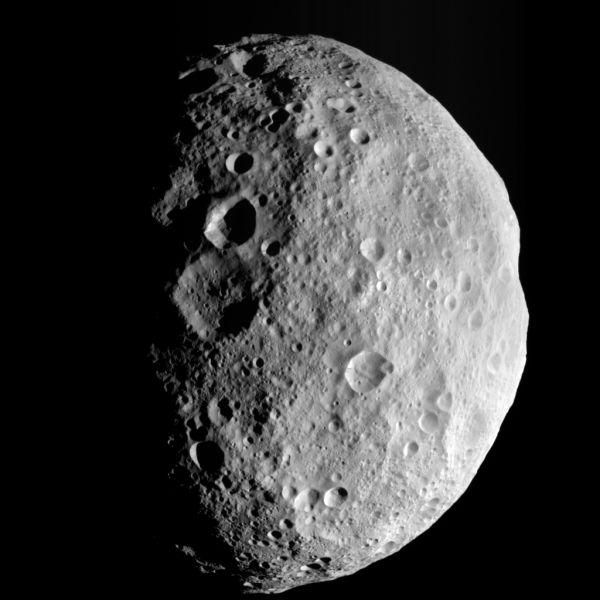 A Last Look Back at Vesta