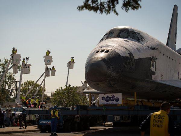 Endeavour Makes Its Final Journey