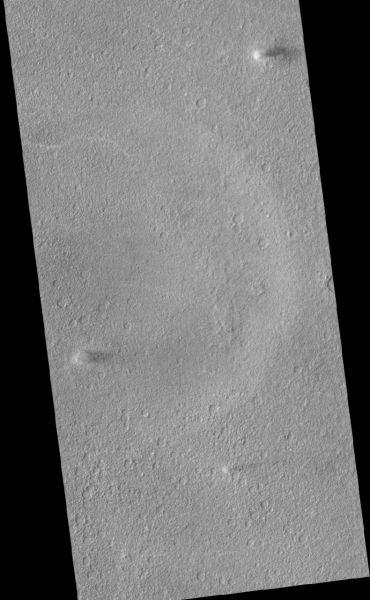 Mars Reconnaissance Orbiter - Three Dust Devils