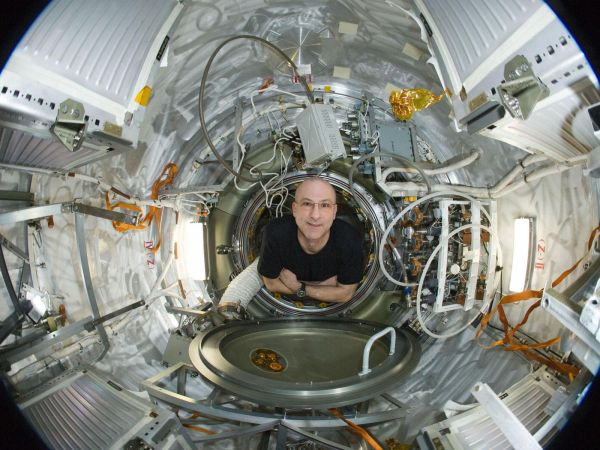 International Space Station - Astronaut Don Petitt