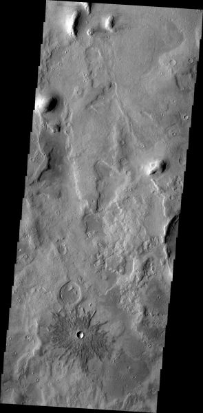 Mars Odyssey - Crater