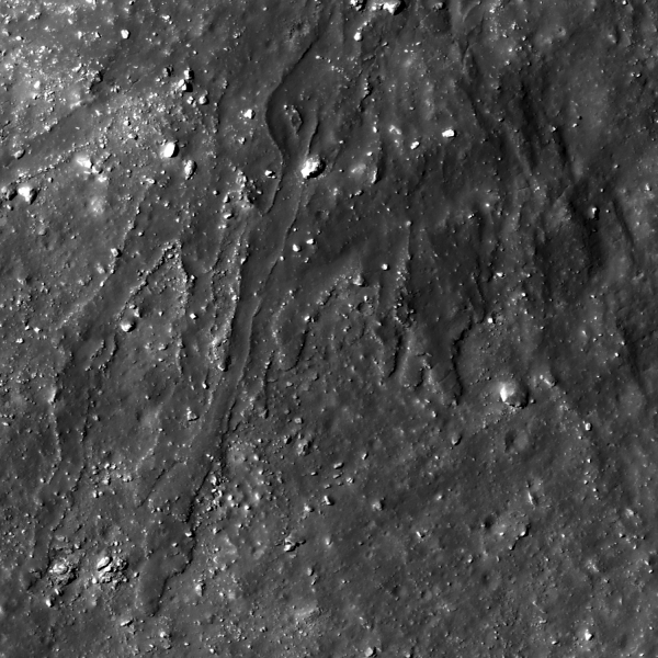 Lunar Reconnaissance Orbiter - La Pérouse A Impact Melt