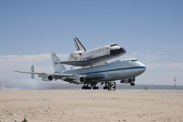 Endeavour's Final Journey - Landing at Edward AFB