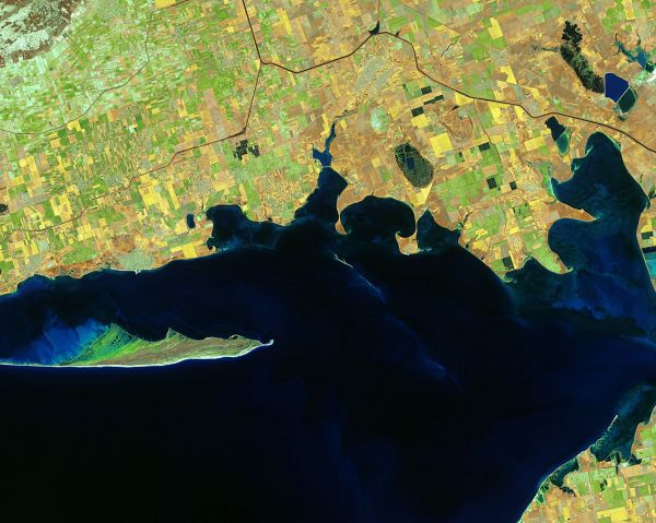 Earth from Space: Black Sea