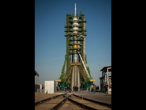 Expedition 33 Soyuz Rollout