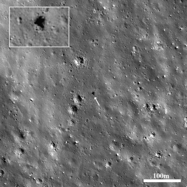 Lunar Reconnaissance Orbiter - Surveyor 7 - America's Last Lunar Unmanned Lander