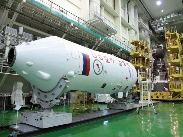 Soyuz and Booster Upper Stage