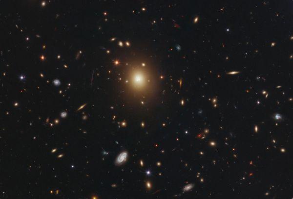 Elliptical galaxy A2261-BCG