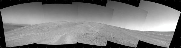 Mars Hill Climbing Opportunity At 'Solander Point'