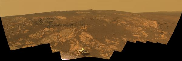 'Matijevic Hill' Panorama for Rover's Ninth Anniversary