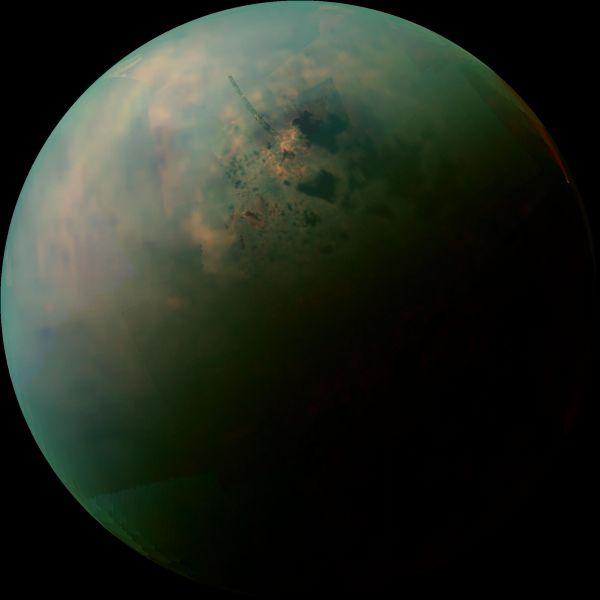 Titan's Northern Lakes: Salt Flats?
