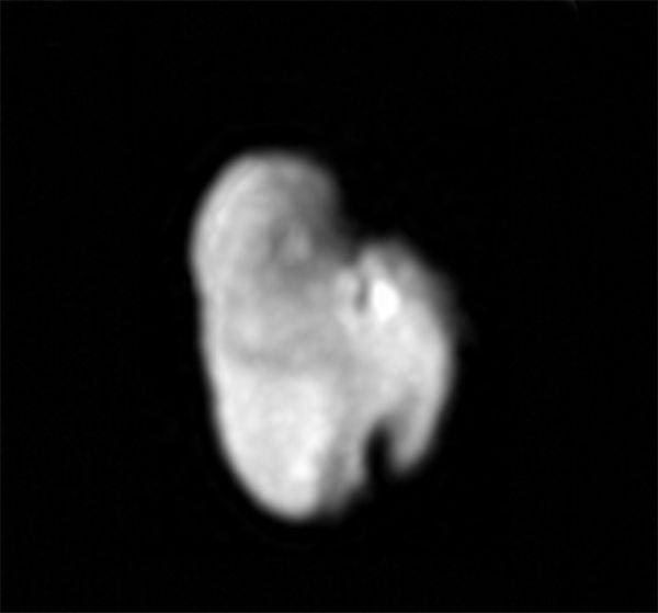 Pluto's Icy Moon Hydra