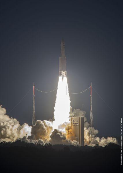 MSG-4 liftoff