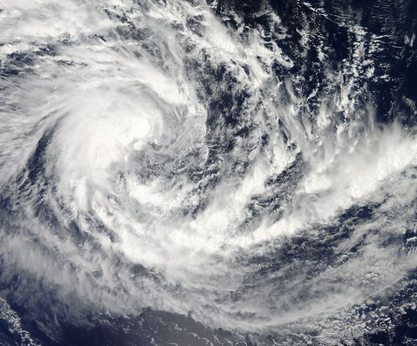 Tropical Cyclone Fifteen (15S) in the Indian Ocean
