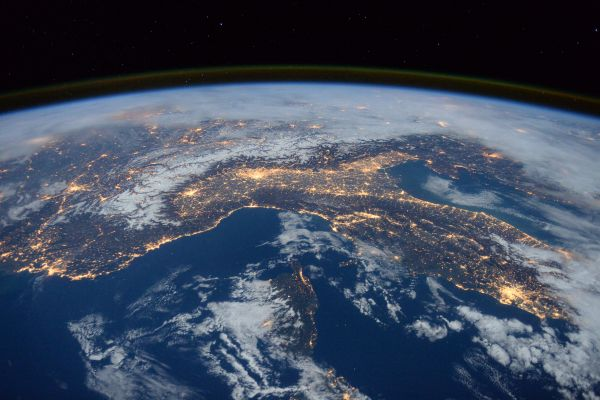 Space Station Flyover Of The Mediterranean