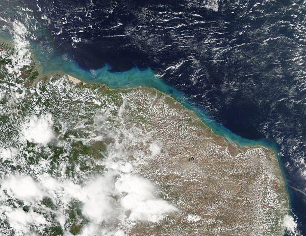 Sediment off Brazil
