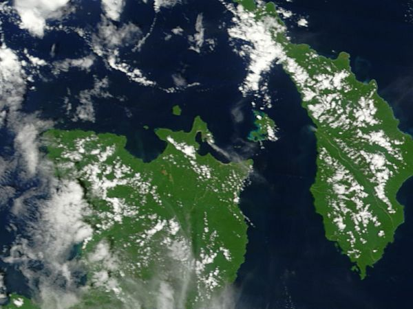 Eruption of Rabaul, Papua New Guinea