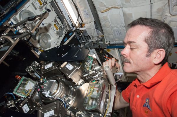 Canadian Space Agency Astronaut Chris Hadfield