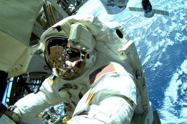 Astronauts Complete Series Of Three Spacewalks