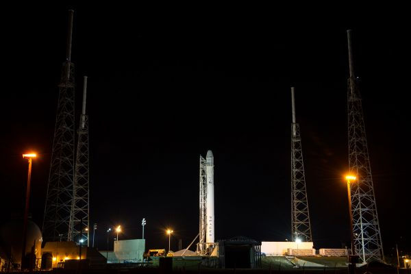 SpaceX 2 on Launch Pad