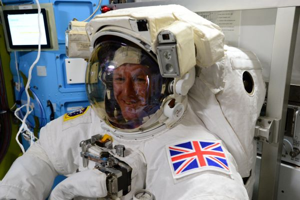 Tim Peake Prepares For Friday's Spacewalk