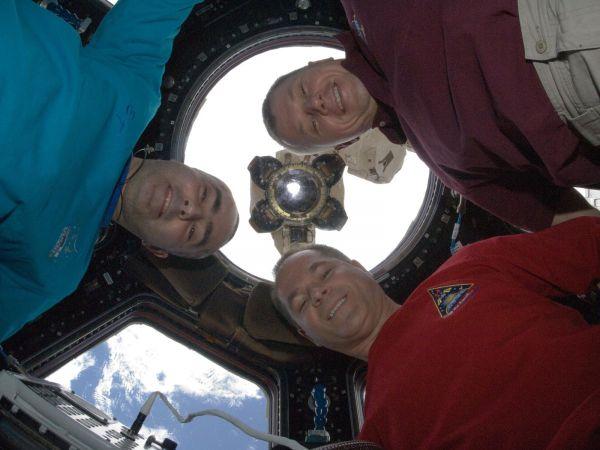 Kevin Ford, Evgeny Tarelkin and Oleg Novitskiy