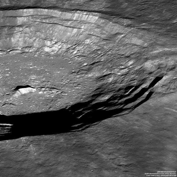 Southside, Aristarchus Crater