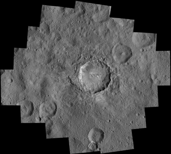 Ceres: Haulani Crater