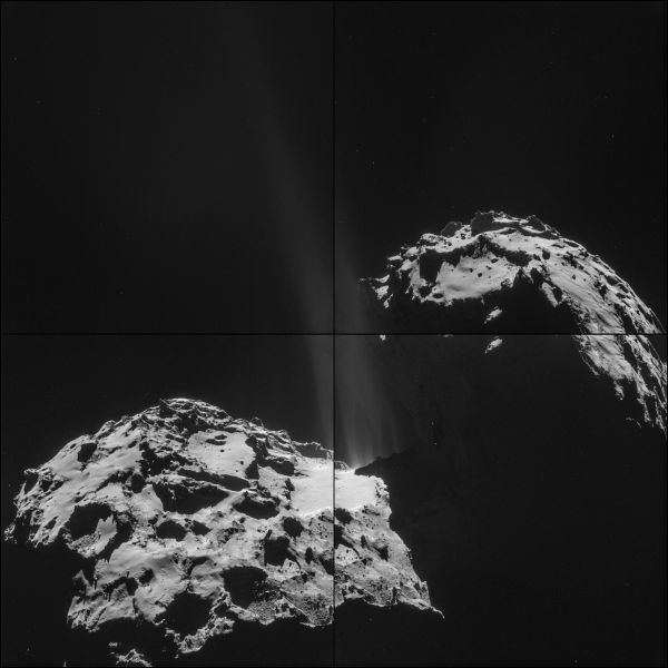 Comet On 26 September – NavCam