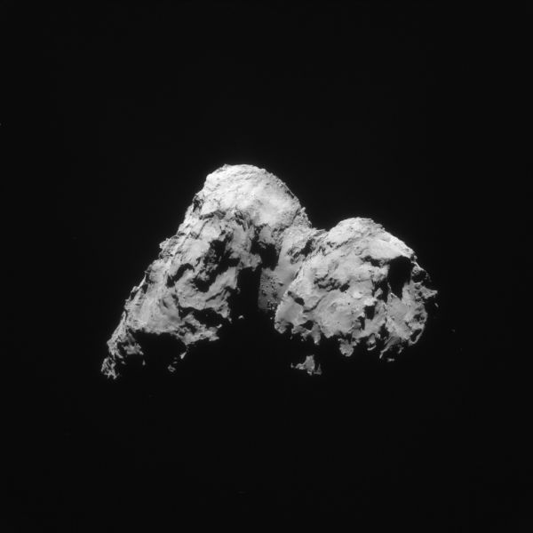 Comet On 17 January 2016 – NavCam