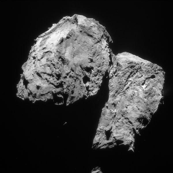 Comet On 10 February 2016 – NavCam