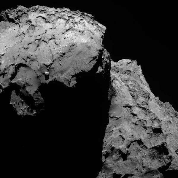 Comet On 17 January 2016 – OSIRIS narrow angle camera