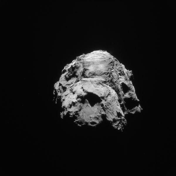 Comet On 21 January 2016 – NavCam