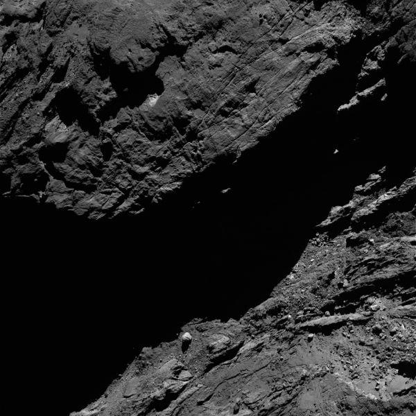 Comet On 7 February 2016 – OSIRIS narrow angle camera