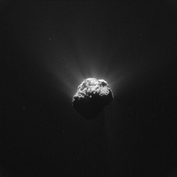 Comet On 13 June 2015 – NavCam