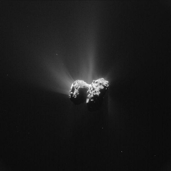 Comet On 15 June 2015 – NavCam