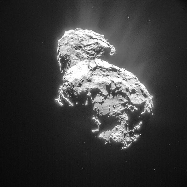 Comet On 6 March 2015 – NavCam