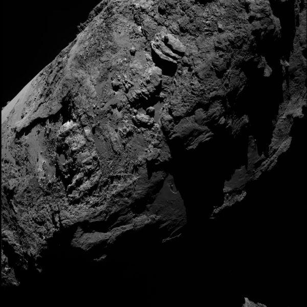 Comet On 30 January 2016 – OSIRIS narrow angle camera (b)