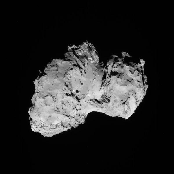 Comet On 19 August 2014 - NavCam
