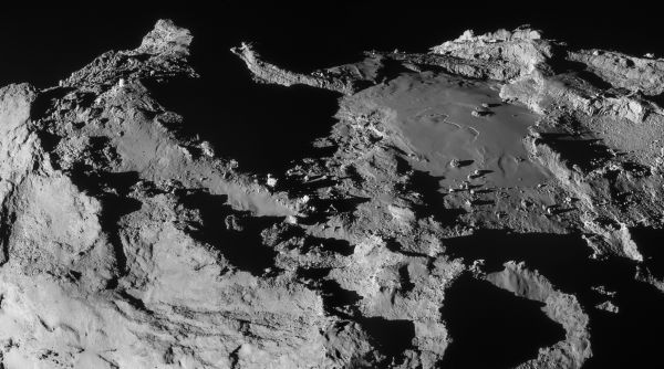 Comet On 28 March 2015 – NavCam mosaic