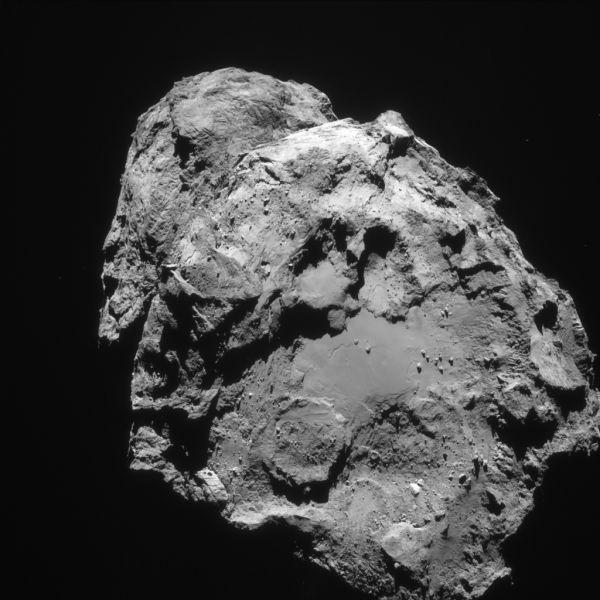 Comet On 5 February 2016 – NavCam