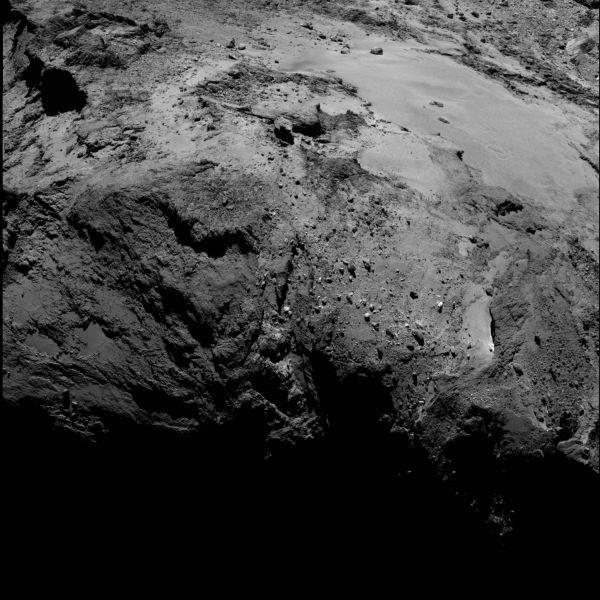 Comet On 10 February 2016 – OSIRIS narrow angle camera
