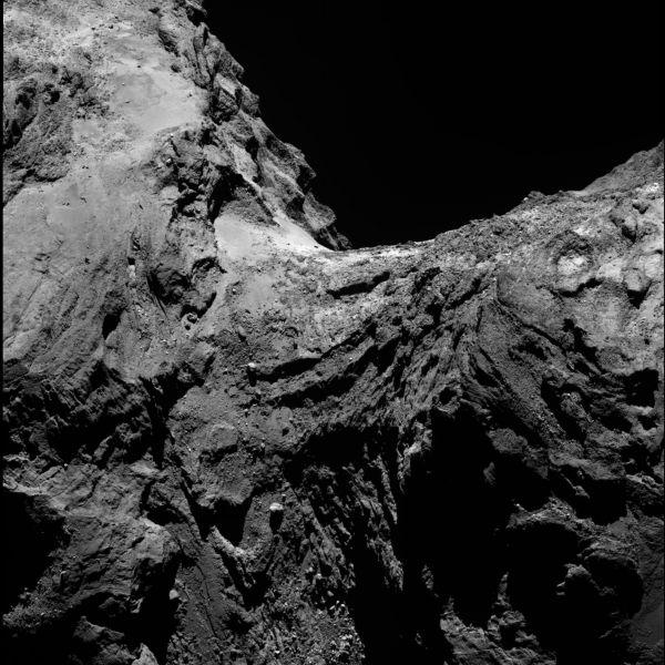 Comet On 30 January 2016 – OSIRIS narrow angle camera